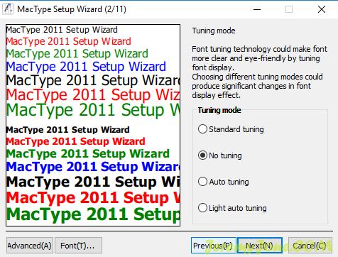 《Windows 10上获得类似Mac的流畅字体》