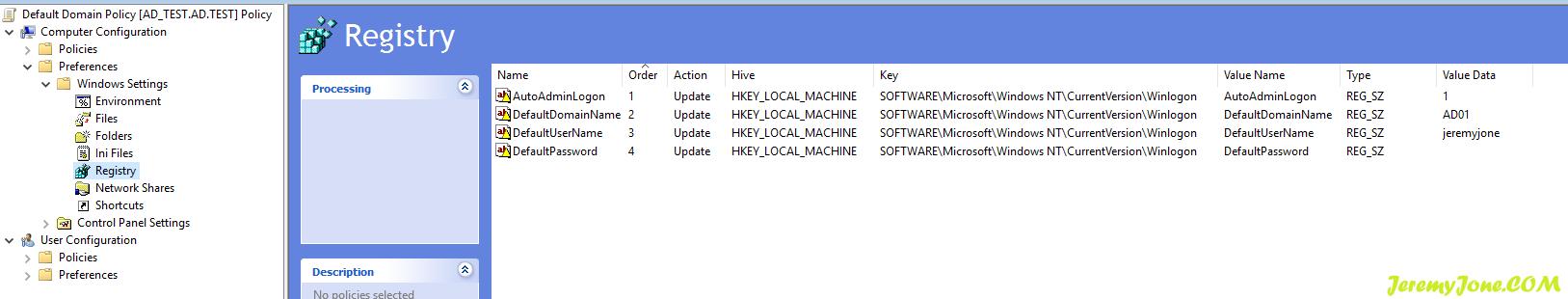 《Windows Server 配置域内机器自动登录》