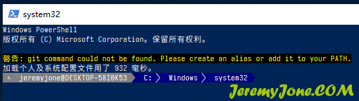 《美化PowerShell(含WindowsTerminal和VSCode终端)》
