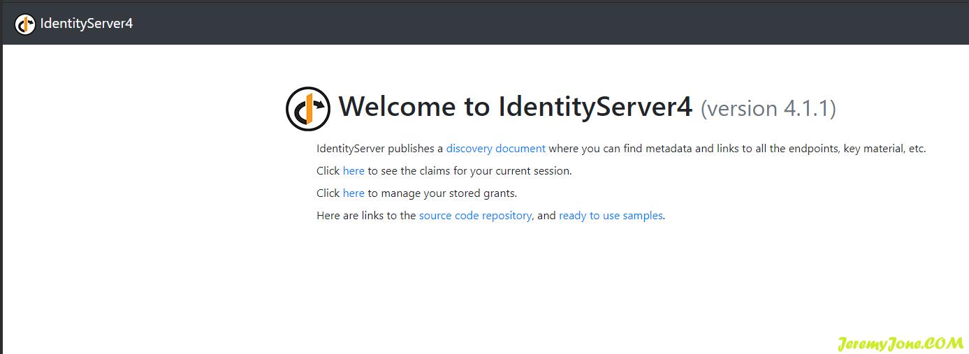 《IdentityServer4深入使用(四)-- IdentityServer4 的使用》